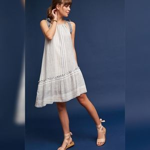 Anthropologie Yarn-Dyed Miller Dress